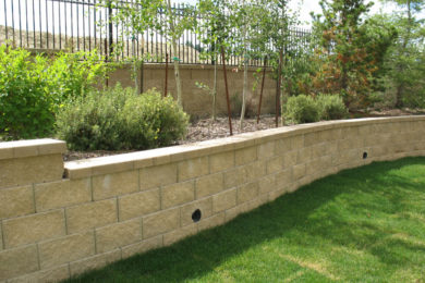 Retaining Walls & Flower Beds