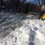 winnipeg ice dam removal